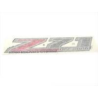 Chevrolet Pick Up Box Side Emblem Z71 OFF ROAD